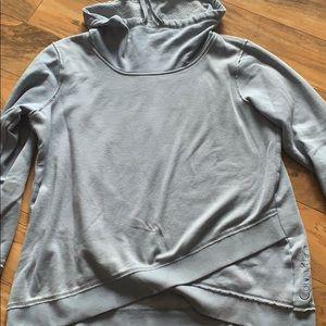 Grey calvin klein hoodie